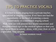Tips to practice Vocals | How to practice Vocals