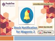 How Stock Notification for Magento 2 works on the Customer side