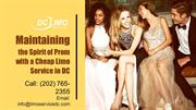 Maintaining the Spirit of Prom with a Cheap Limo Service in DC
