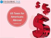 Us Taxes for americans abroad
