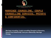 Marriage counseling, Couple Counselling Services, Private