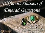 Different Shapes Of Emerald Gemstone