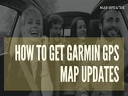 Grab Free Garmin Map Update +1 888-480-0288 | GPS Map Updates