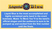 Themed Party Band Los Angeles - Liquid Blue