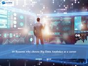 Why Choose Big Data Analytics as a Career?