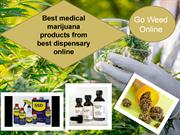 Go Weed Online - Best dispensary online for medical marijuana products
