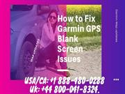 Fix Garmin GPS blank screen issue 1 888-480-0288 | GPS Map Updates