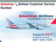 1877-546-7370  American Airlines Customer Service Number