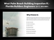 Structural Engineer West Palm Beach