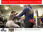 fitness equipment manufacturers in india