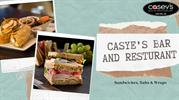 Restaurant menu Sandwiches, Subs & Wraps at Casey's Bar and Restaurant