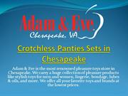 Crotchless Panties Sets in Chesapeake
