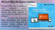 MS Office 365 Business Solution
