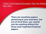 Financial Statement Preparation & Bookkeeping Services