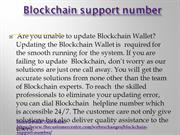 Blockchain Support Number +1856-295-1212 phone number