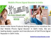 Mobile Phone Signal Booster in India