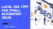 Local SEO Tips for Small Businesses india
