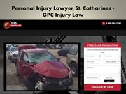 Personal Injury Lawyer St. Catharines