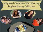 Bollywood Celebrities Who Wearing  Sapphire Jewelry Collection