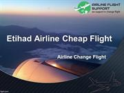 Erihad Airline Cheap Flights- Airline Change Flights