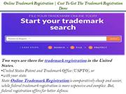 Online Trademark Registration  Cost To Get The Trademark Registration