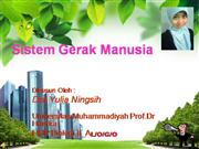 sistem gerak manusia
