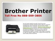1(888)509-3806 brother printer support number