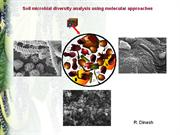 Methods to study soil microbial diversity