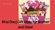 Bhai Dooj Gift Ideas for Brother and Sister