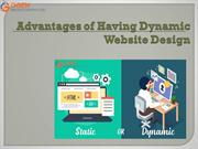 Advantages of Having Dynamic Website Design
