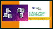 Carlyle Compressor Suppliers in Dubai, UAE