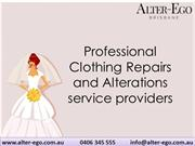 Professional Clothing Repairs and Alterations service providers