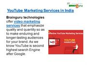 youtube marketing services in india