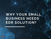 Why Your Small Business Needs EDR Solution_