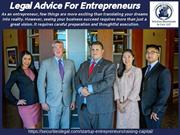 Legal Advice For Entrepreneurs