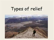 2. Types of relief