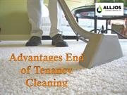 Advantages End of Tenancy Cleaning