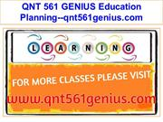 QNT 561 GENIUS Education Planning--qnt561genius.com