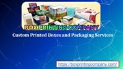Choose The Best Custom Printed Boxes For Your Products