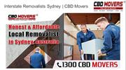 Interstate Removalists Sydney | Moving Companies Sydney | CBD Movers