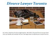 Child Support Lawyer in Toronto
