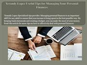 Yerandy Lopez Useful Tips for Managing Your Personal Finances