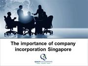 The importance of company incorporation Singapore