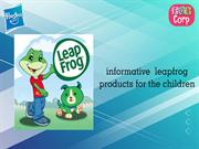 informative leapfrog products for the children