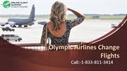 Olympic Air Customer Service | Airline Change Flights