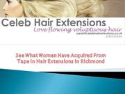 What Women Have Learned From Tape In Hair Extensions in Richmond