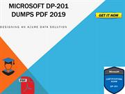 Microsoft DP-201 Dumps PDF 2019 Updated And Latest