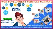 Get the Finest Web Development Services in USA by PNJ Sharptech
