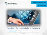 Successful and Affordable Data Entry Services India