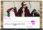 Beauty for you store - Online Beauty shopping